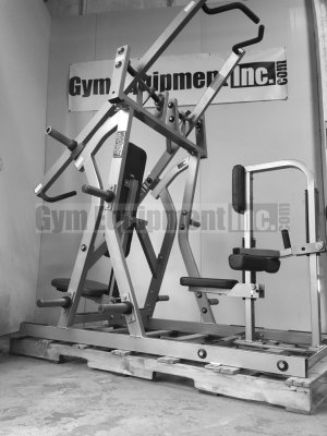 Hammer Strength Plate-Loaded Iso-Lateral Chest/Back : Gym